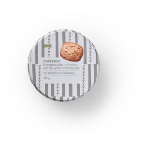 KAFFEREP СЕРИЯ Овсяное печенье с корицей