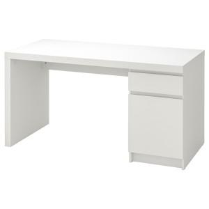 МАЛЬМ Письменный стол, белый