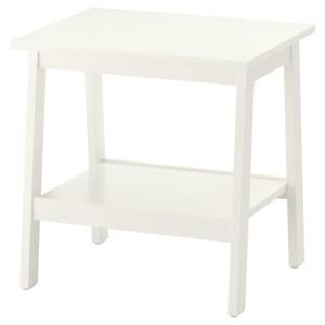 ЛУНАРП Придиванный столик, белый