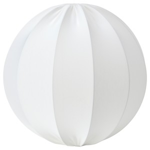 РЕГНСКУР Абажур для подвесн светильника, круглой формы белый
