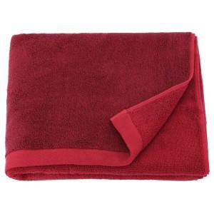 ХИМЛЕОН Банное полотенце, темно-красный, меланж