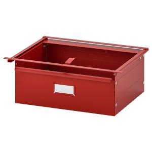 ИВАР Ящик, красный