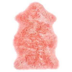 СМИДИ Овечья шкура, окрашенная, розовый