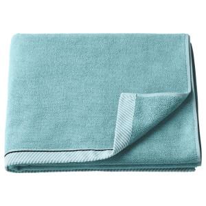 ВИКФЬЕРД Банное полотенце, голубой