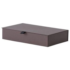 АНИЛИНАРЕ Шкатулка д/украшений, с отделениями, темно-коричневый