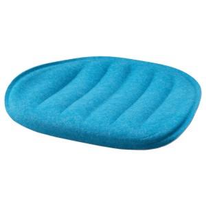ПЮНТЕН Подушка на сиденье, синий