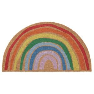 ПИЛЛЕМАРК Придверный коврик для дома, радуга
