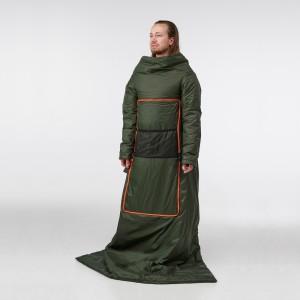 ФЭЛЬТМАЛ Подушка/одеяло, насыщенный зеленый