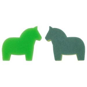 СНАББАКАТ Губка, бледно-зеленый, светло-зеленый, 1штуки