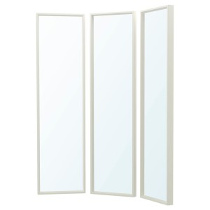 НИССЕДАЛЬ Комбинация зеркал, белый