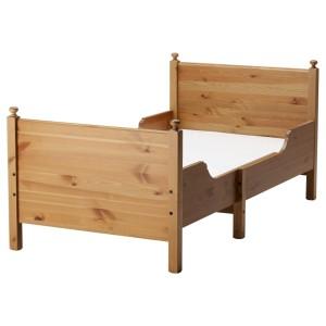 ЛЕКСВИК Раздвижная кровать с реечным дном