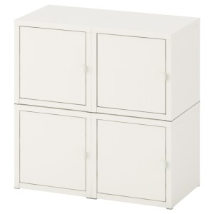 ЛИКСГУЛЬТ Комбинация настенных шкафов, белый