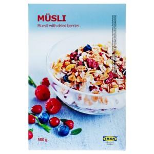 MÜSLI Мюсли с ягодами, 0.5кг