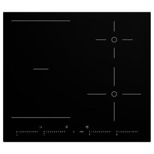 УТРУЛИГ Индукционная панель/регулир зоны, черный