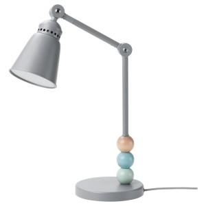 ЛАНТЛИГ Рабочая лампа, светодиодная, серый