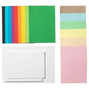 МОЛА Бумага, разные цвета разные цвета, разные размеры различные размеры