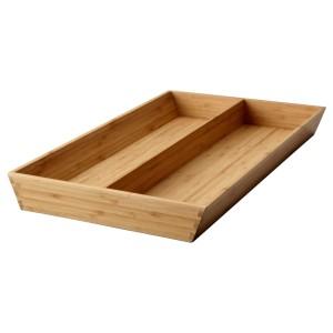 ВАРЬЕРА Лоток д/кухонных принадлежностей, бамбук