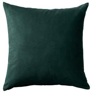 САНЕЛА Чехол на подушку, темно-зеленый