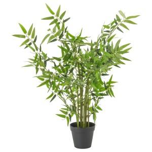 ФЕЙКА Искусственное растение в горшке, бамбук