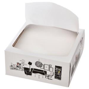 ФАМИЛИ Салфетка бумажная, белый, 100шт