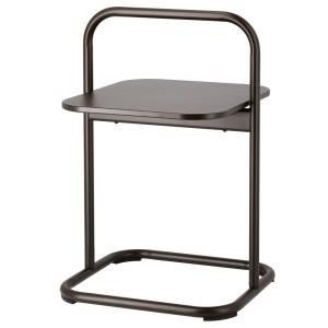 ХУСАРЭ Садовый приставной столик, темно-серый