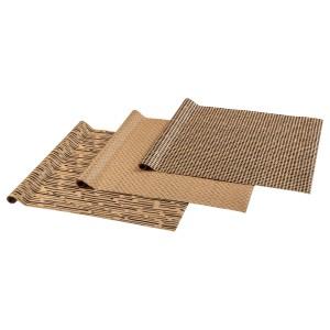 ГИВАНДЕ Рулон оберточной бумаги, естественный, черный, 9м