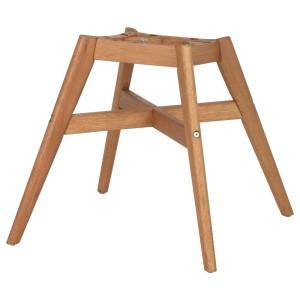 ФАНБЮН Каркас стула, под коричневое дерево