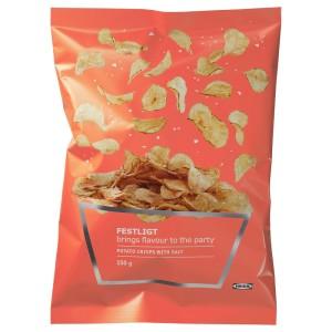 FESTLIGT Картофельные чипсы, соленый, 0.15кг