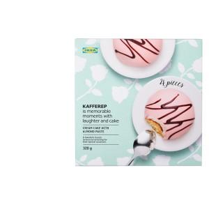 KAFFEREP Миндальное пирожное, миндаль, 0.32кг
