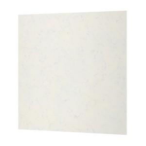 РОХУЛЬТ Настенная панель под заказ, белый под мрамор, кварц, 1м²