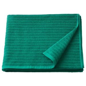 ВОГШЁН Банное полотенце, темно-зеленый