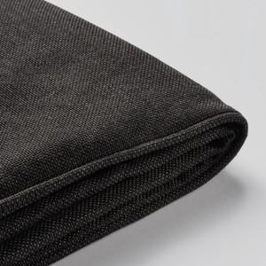 ЙЭРПОН Чехол для подушки на сиденье, для сада антрацит темно-серый