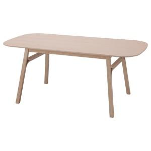 ВОКСЛЁВ Стол обеденный, светлый бамбук