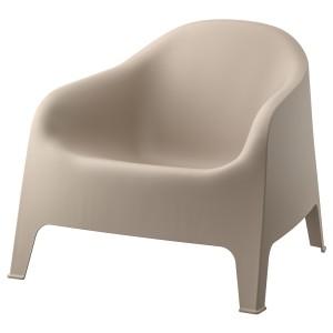 СКАРПО Садовое кресло, темно-бежевый