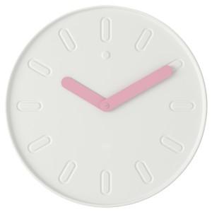 СЛИПСТЕН Настенные часы, белый