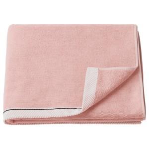 ВИКФЬЕРД Банное полотенце, светло-розовый