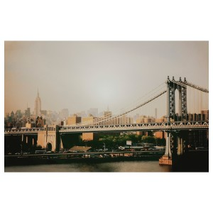 БЬЁРКСТА Холст, Манхэттенский мост