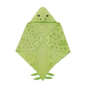 ЙЭТТЕЛИК Полотенце с капюшоном, Стегозавр, зеленый
