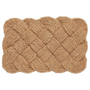 СТАВРЕБЮ Придверный коврик для дома, ручная работа, спираль естественный