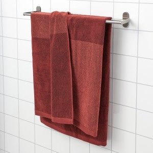 ХИМЛЕОН Простыня банная, коричнево-красный, меланж