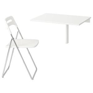 НОРБЕРГ / НИССЕ Стол и 1 стул
