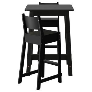 НОРРОКЕР / НОРРОКЕР Барный стол и 2 барных стула