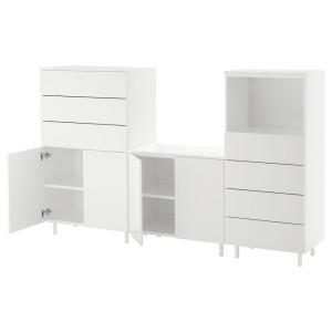 ОПХУС Комбинация д/хранения, белый, Фоннес белый