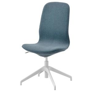 ЛОНГФЬЕЛЛЬ Конференц-стул, Гуннаред синий, белый