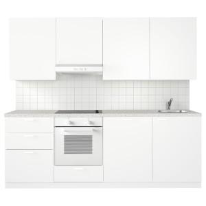 МЕТОД Кухня, белый, Веддинге белый