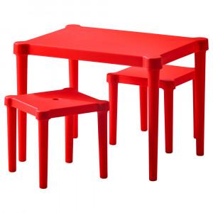 УТТЕР Детский стол и 2 стула