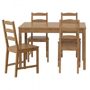 ЙОКМОКК Стол и 4 стула