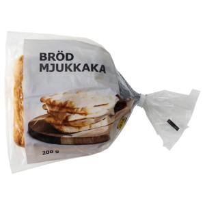 BRÖD MJUKKAKA Пшеничный хлеб, замороженный, 0.2кг