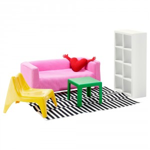 ХУСЕТ Кукольная мебель,гостиная