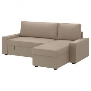 ВИЛАСУНД Чехол на диван-кровать с козеткой